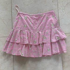 Lilly Pulitzer NWT $188 Vinkavine Bevin Skirt Sz 2